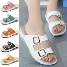 2020 Summer New Women Fashion Sandals Wedges shoes Leather Sandles Slipper