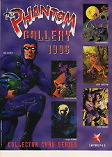 THE PHANTOM - Gallery 1996 Card Series Poster Glenn Ford Signature (Intrepid)