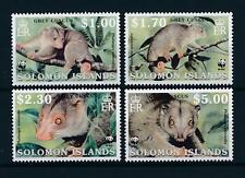 [54011] Solomon Islands 2002 Wild animals Mammals WWF Grey cuscus MNH