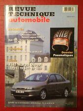 Revue Technique Automobile FIAT Marea Diesel et Évolution FORD Mondeo 4cyl Ess