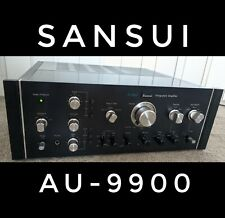 SANSUI AU-9900 INTEGRATED AMPLIFIER, serviced, new relays, fully bench tested