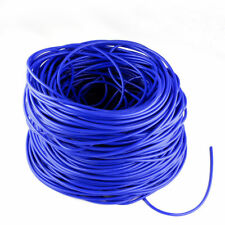 """For 20 Feet 1/8"""" 3mm Fuel Air Silicone Vacuum Hose Line Tube Pipe Blue"""