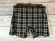 Tommy Bahama Mens Black Plaid Briefs Size Medium NWT NEW