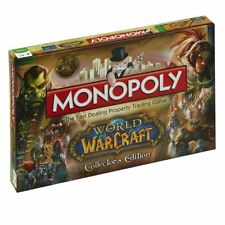 Monopoly World Of Warcraft WOW Adults & Children's Collectors Edition Board Game