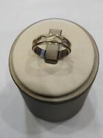 Verlobungsring Unisex aus Silber 925,Neu mit Box, Abmessung 11