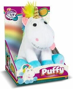 Club Petz Puffy Funny Unicorn Plush Giggles & Farts New Kids Xmas Toy Gift 18m+