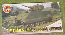 AIRFIX MODEL KIT 1/76th SCALE M113 U.S. FIRE SUPPORT VERSION A02327