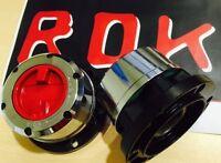 ROK Free Wheel Manual Hubs for Toyota Landcruiser 60 75 80 Hilux with Leaf Fr