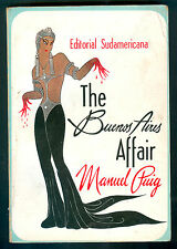 MANUEL PUIG BOOK THE BUENOS AIRES AFFAIR FIRST EDITION  EDITORIAL SUDAMERICANA