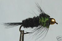 10x Mouche de peche Nymphe Montana  Bille H8/10/12/14