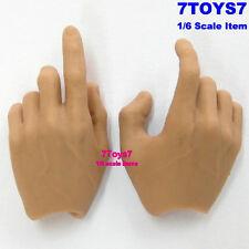 Hot Toys 1/6 TrueType TTM16_ Hands _Shooting White HT034C