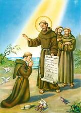 Catholic Print Picture BLESSING OF SAINT FRANCIS ASSISI - ready to frame