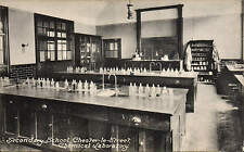 Chester le Street. Secondary School Chemical Laboratory.