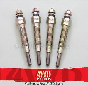 Glow Plug SET - for Nissan Terrano II R20 2.7TDi TD27Ti (97-00)