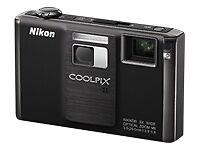 Nikon COOLPIX S1000pj - Projector Digital Camera - Black - New in Open Box!