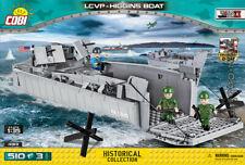 COBI  LCVP Higgins Boat / 4813 / 510 bricks WWII US Army ship barg  Small Army