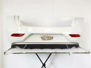 2012-2016 MK3 VOLVO V40 R-DESIGN REAR BUMPER WHITE 5 DOOR HATCHBACK