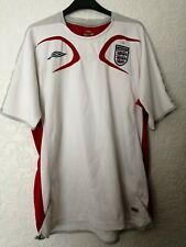 Mens Umbro England T Shirt Top Size Large white - used condition