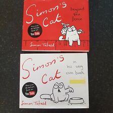 SIMONS CAT 2 Books Very Own Book & Beyond The Fence Bundle Cute Cartoon Kitty