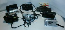 ☆ LOT OF 7 VINTAGE CAMERAS ~ KODAK ~ OLYMPUS  ~ ANSCO & CANNON FREE SHIPPING