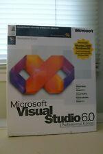 NEW SEALED BOX Microsoft Visual Studio Professional 6 PRO C++ Foxpro Basic 6.0 6