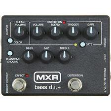 MXR M80 Bass D.I.+ Bass Distortion Pedal Bass Effect Pedal - New