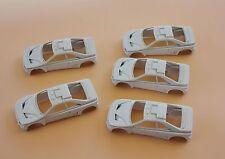 DI' LOT 5 voiture 1/43 Peugeot 405 T16 Rallye raid collector Heco miniatures car