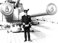 ADMIRAL DAVID BEATTY ABOARD ROYAL NAVY BATTLESHIP HMS QUEEN ELIZABETH