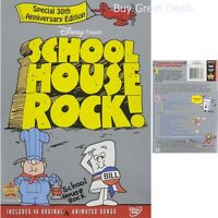 Schoolhouse Rock Ultimate Complete Original Cartoon Collection Educational DVD