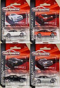 Majorette Nissan Cefiro A31 Set Of 4