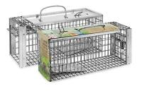 Defenders Heavy Duty Rat & Squirrel Cage Trap Live Catch Humane No Poison STV088
