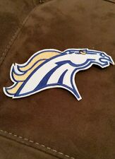 """Denver Broncos NFL Team Logo 5""""x3""""Iron/Sew On Patch"""