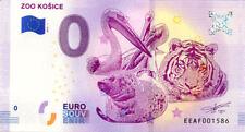 SLOVAQUIE Košice, Zoo, 2018, Billet 0 € Souvenir
