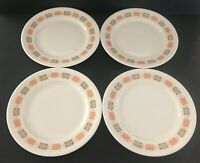 Vintage Shenango China Interpace Restaurant China Plates Set of 4 Mid Century
