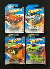 Hot Wheels 2011 Thrill Racers Baja Beetle, XS-IVE Toyota Rsc, DA'Kar Lot Of 4