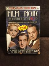 Film Noir Collector's Edition Vol. 1- Two- Pack DVD SET- RARE/ OOP