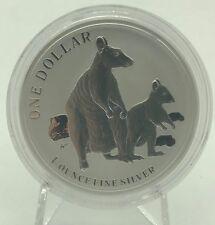 Australia 2011 Kangaroo 1$ Silver Dollar OZ ONZA