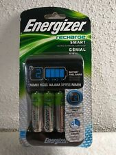 Energizer Recharge Smart Charger, 4 AAA or AA NiMh Batteries (included 4 AA )