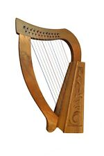 Muzikkon 12 Strings Heartland O'Carolan Harp Walnut, Celtic irish harp