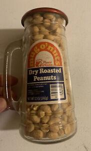 Vintage Glass Mug O' Nuts Peanuts Detroit Tigers Baseball Peanut NOS Full