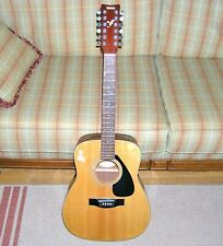 Yamaha FG-411-12 Right Hand 12-String Acoustic Guitar ~ Full Size; NEEDS STRINGS