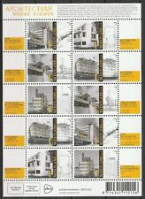 Nederland 2018 V3679-3683 Vel Architectuur Het Nieuwe Bouwen - World Heritage