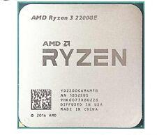 AMD Ryzen 3 2200GE Quad-Core Radeon VEGA 8 3.2GHz CPU Processor