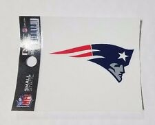 """New England Patriots 3 x 4"""" Small Static Cling - Truck Car Auto Window Decal NEW"""