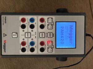 MEGGER PAM420 multi function meter..