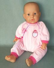 """19"""" Berenguer LaBaby Doll Molded Hair Vgc"""