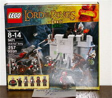 NEW SEALED LEGO 9471 LORD OF THE RINGS URUK HAI ARMY BATTLE AT HELMS DEEP
