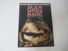 VTG Man Myth Magic 1974 Black magic  Occult Supernatural  Magazine Part 3
