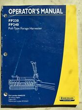 FORD New Holland Forage Harvester Operators Manual Tractor Implement Attachment