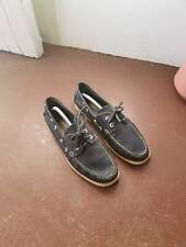 Leather Boat Shoes - Blue. Size: EUR 44 / UK (Aus) 10 / US 11.